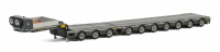 WSI Premium Line Low Loader 7 Axle Dolly 3 Axle Broshuis